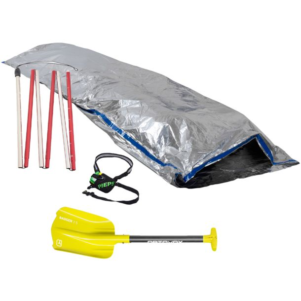 Pieps DSP Sport incl. Bivy Bag & Ortovox Safety Package