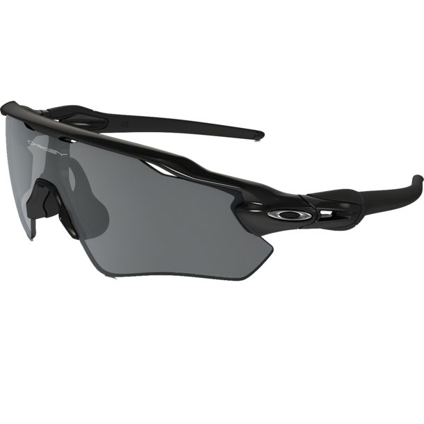 Oakley Radar EV XS Path Sonnenbrille polished black/black irid pola