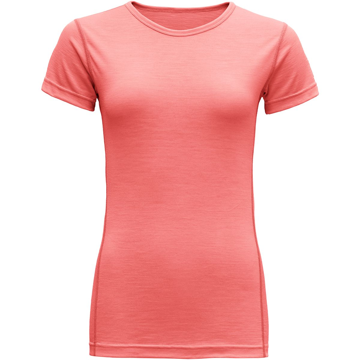 Devold Damen Breeze T-Shirt (Größe S, Orange) | Kurzarm Unterhemden > Damen