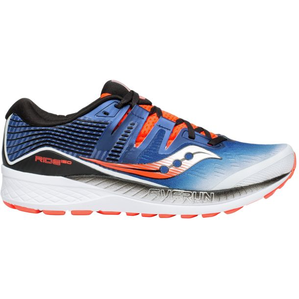 b92ccacc2ac Saucony Heren Ride Iso Schuhe white-blue-vizired US 8 ...