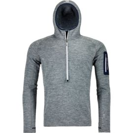 Ortovox Herren Fleece Light Melange Zip-Hoody