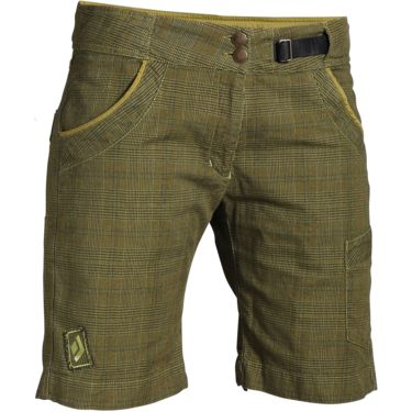 Black Diamond Damen Dogma 2.0 Shorts olive check olive check S