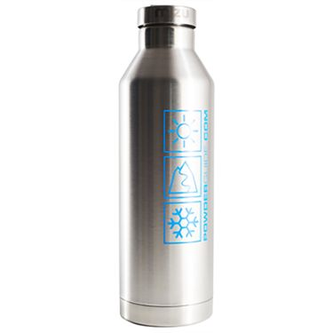 PowderGuide PowderGuide Thermosflasche hellblau 750 ml