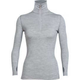 Icebreaker Damen Tech Top Zip-Shirt