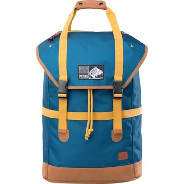 Picture Soavy Backpack petrol blue ONE SIZE