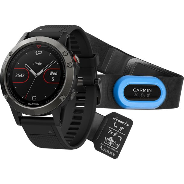 garmin fenix 5 grau performer bundle gps uhr kaufen bergzeit. Black Bedroom Furniture Sets. Home Design Ideas
