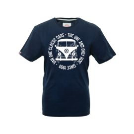 Van One Classic Cars Herren Bulli Face T-Shirt