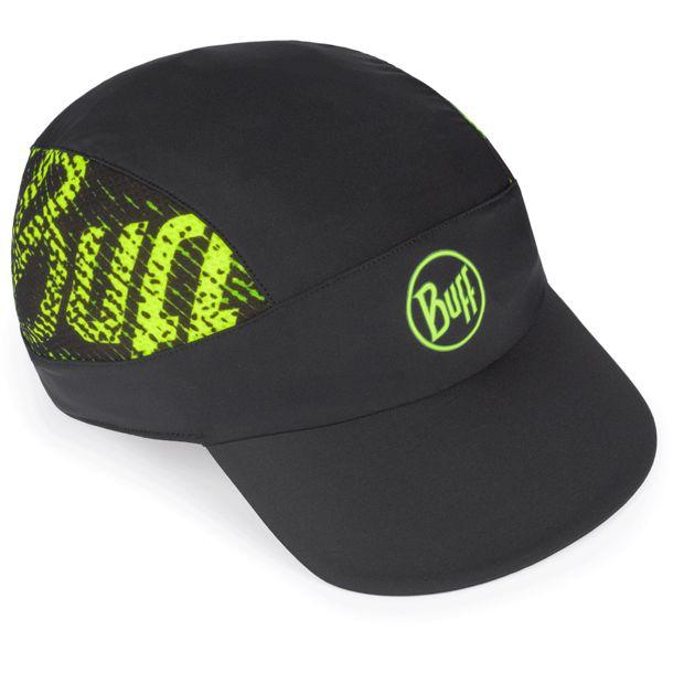 Buff Pack Run Cap r-flash logo black ONE SIZE