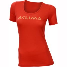Aclima Damen LightWool Logo T-Shirt