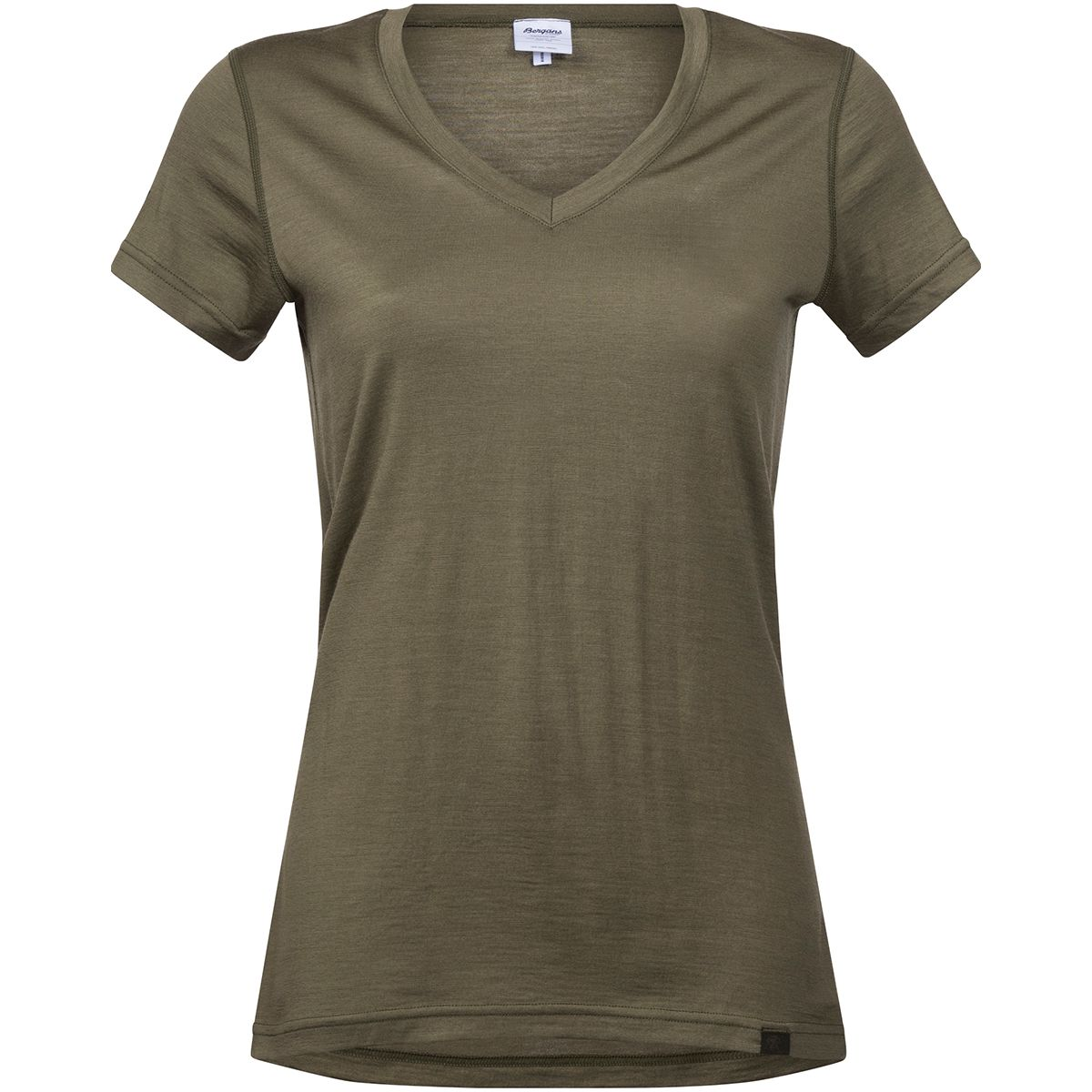 Bergans Damen Bloom T-Shirt (Größe S, Oliv) | T-Shirts Merino > Damen