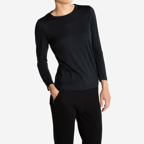 cc14751a432a81 We Norwegians Damen Foss Longsleeve black XS ...