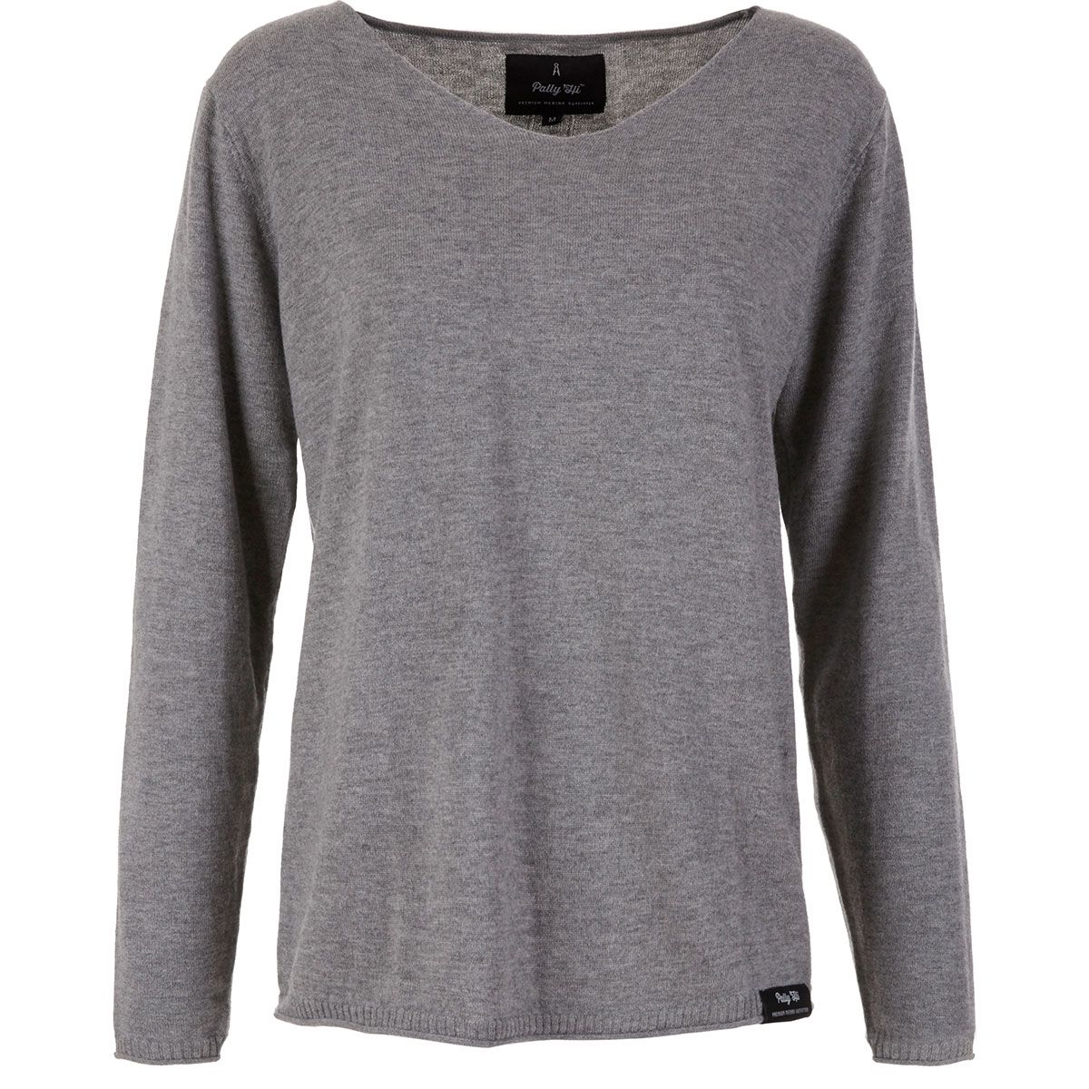 Pally'Hi Damen Mary Lunch Knit Sweatshirt (Größe XS, Grau) | Pullover > Damen
