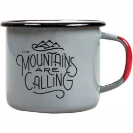 United by Blue John Muir Enamel Tasse