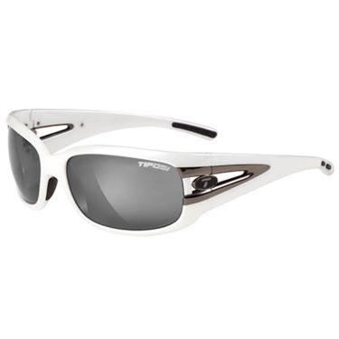 Tifosi Men's Lust bike glasses Pearl White/Smoke