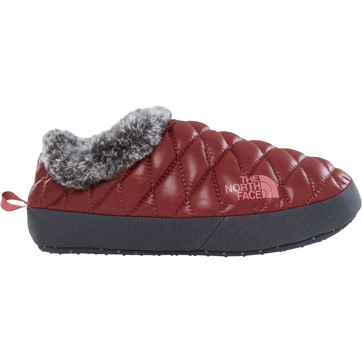 The North Face Damen Thermoball Tent Mule Faux Fur IV Hausschuhe Rot 39, 40, 39.5, 40.5
