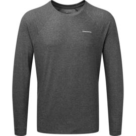Craghoppers Men's NosiLIfe Bayame Long-Sleeved Shirt quarry grey