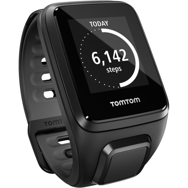 TomTom Runner 2 Cardio + Music + Headphones black
