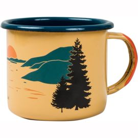 United by Blue Inlet Enamel Tasse