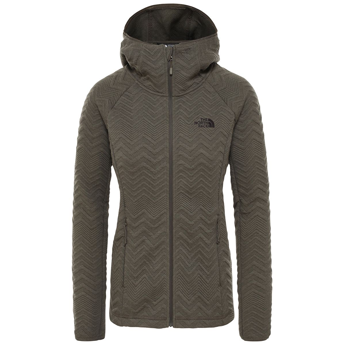 The North Face Damen Inux Tech Jacke (Größe XS, Oliv) | Isolationsjacken > Damen
