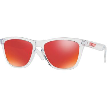 Oakley Frogskins Sonnenbrille crystel clear/torch irid