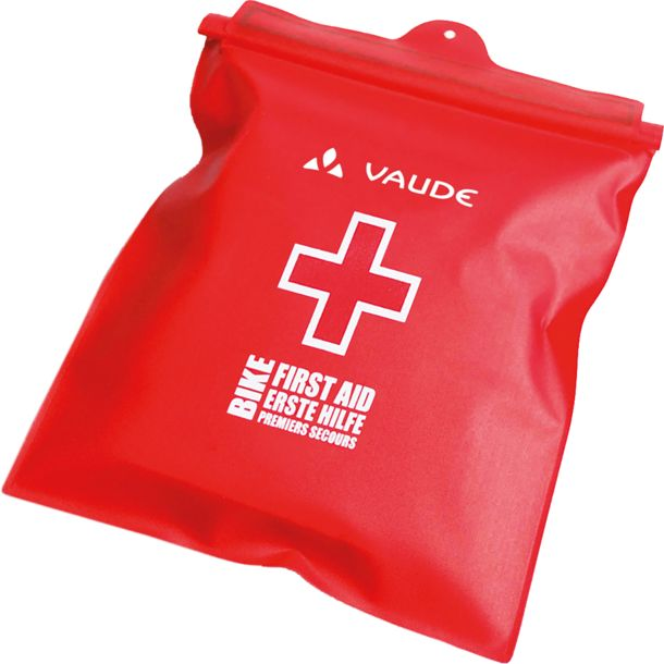 Vaude First Aid Kit Bike Waterproof red/white