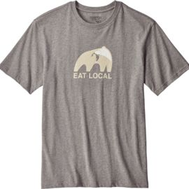 Patagonia Herren Eat Local Upstream Cotton T-Shirt