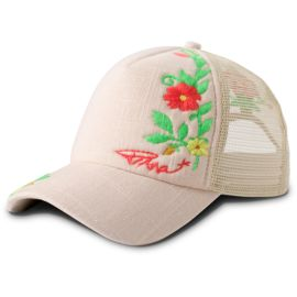Prana Prana Embroidered Trucker Cap