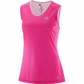 Salomon Damen Trail Runner Sleevele Tanktop