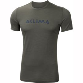 Aclima Herren LightWool Logo T-Shirt