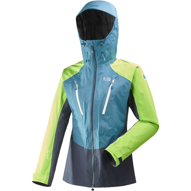 competitive price 8c5da 4a57f Women's Ld Trilogy V Icon Gtx Jacket saphir-acid green M