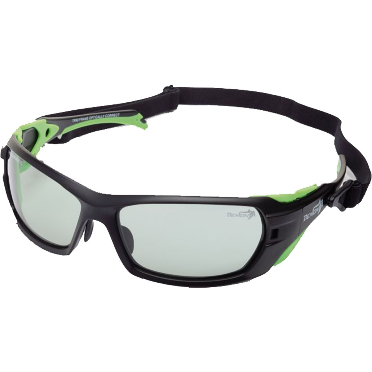 Demon Masterpiece Photochromic Cat 2-4 Sonnenbrille (matt blk green/photochr. smoke) MASTERPIECEBK/G
