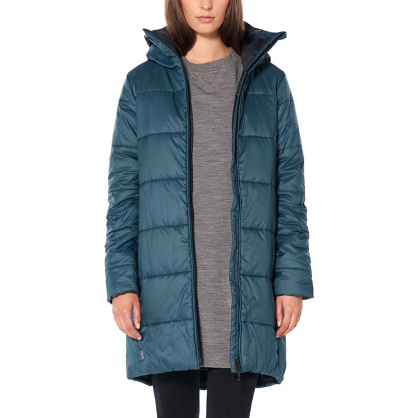 Icebreaker Damen Collingwood 3Q Hooded Jacke black S
