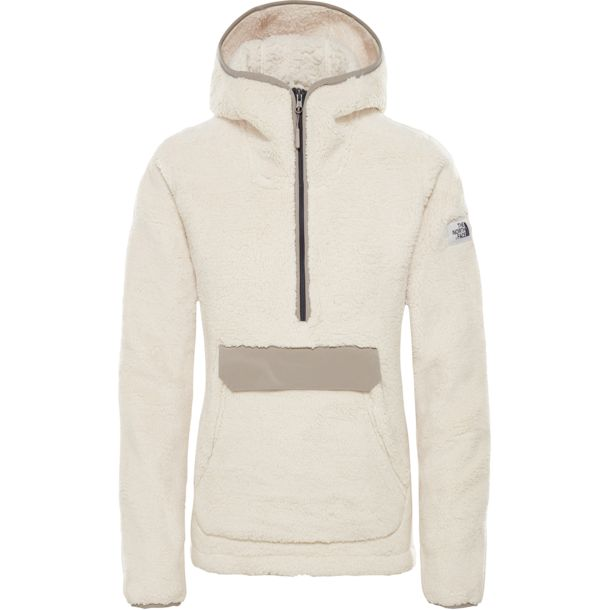 finest selection 9e1f7 547f6 Damen Campshire Pullover Hoodie vintage white-silt grey L