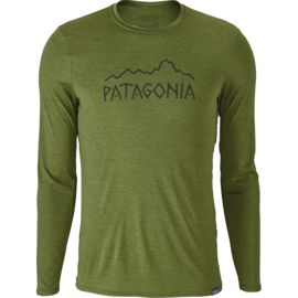 Patagonia Men's Cap Daily Graphic Long Sleeve