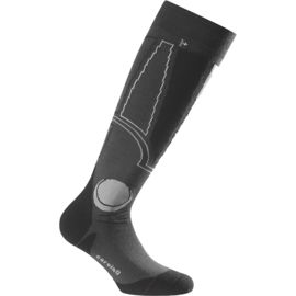Rohner Men's Carving Ski Sock black-red