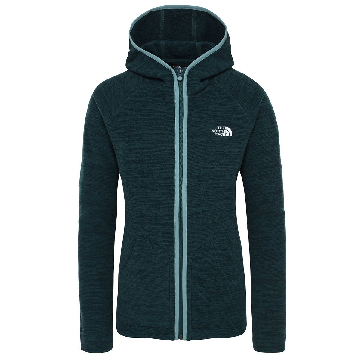 The North Face Damen Nikster Hoodie Jacke (Größe XS, Grün) | Fleecejacken > Damen