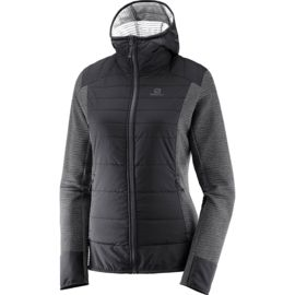 Salomon Damen Right Nice Hybrid Hoodie Jacke