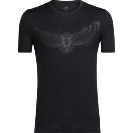 Icebreaker Herren Tech Lite Crewe Night Owl T-Shirt