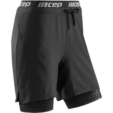 CEP Damen Training 2 In 1 Shorts black XS