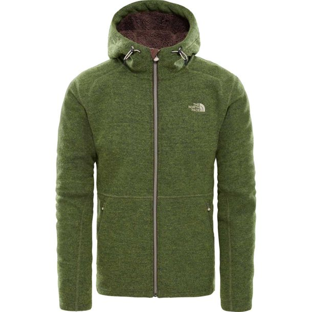 Herren Zermatt Fz Hooded Jacke four leaf clover heather M