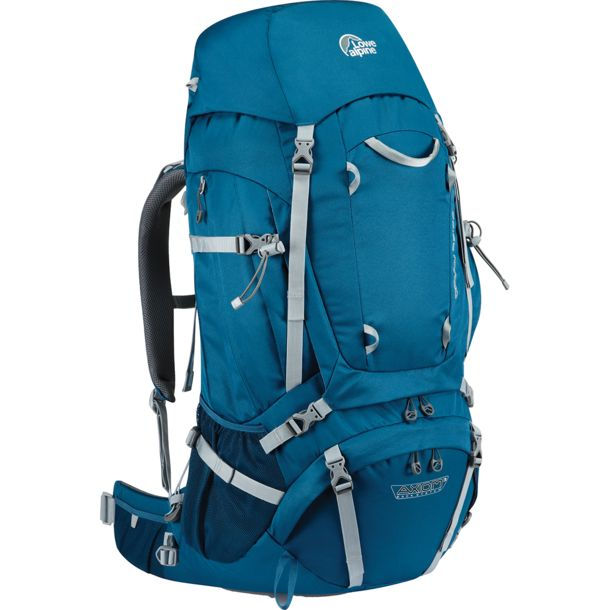 Lowe Alpine Herren Diran 55:65 Rucksack atlantic blue REGULAR