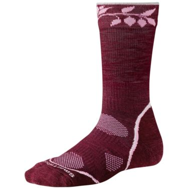 Smartwool Women's PhD Outdoor Light W's Crew wine