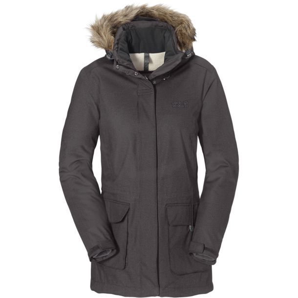 jack wolfskin mantel parka f r damen kaufen bei bergzeit. Black Bedroom Furniture Sets. Home Design Ideas