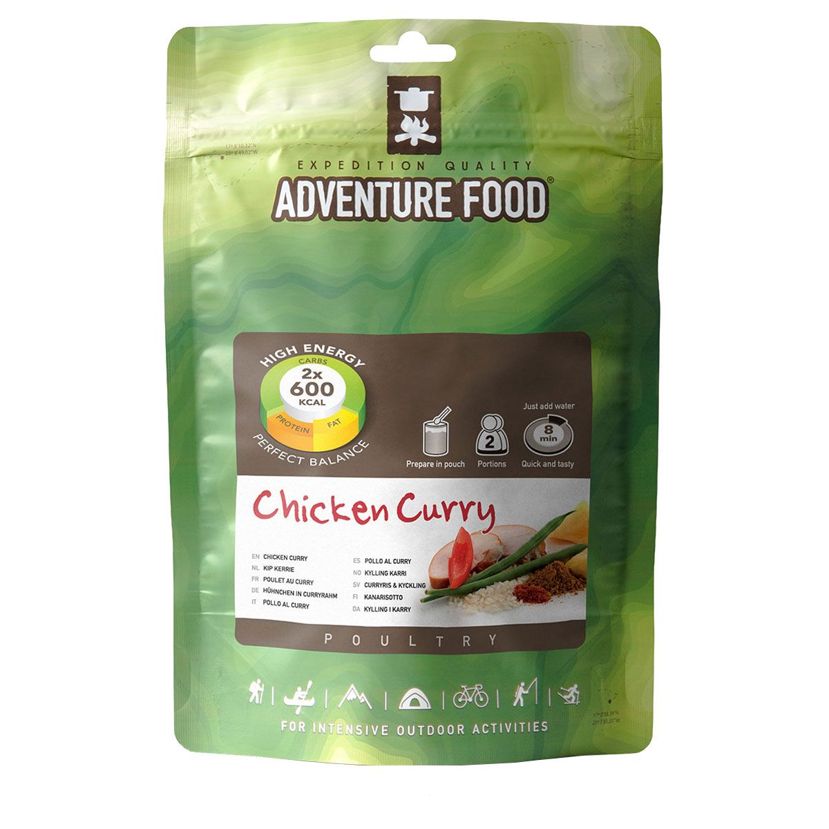 Image of Adventure Food Huhn in Curryrahm