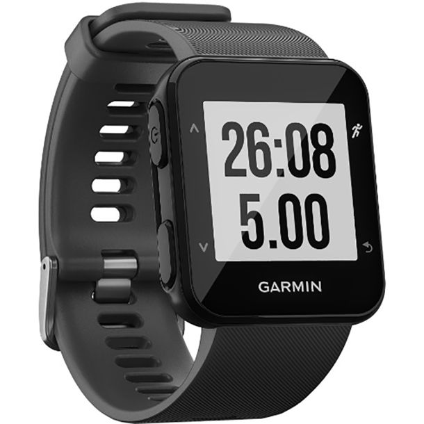 garmin forerunner 30 gps uhr schwarz kaufen bergzeit. Black Bedroom Furniture Sets. Home Design Ideas