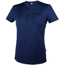 POC Damen Trail Light Zip Tee Radtrikot