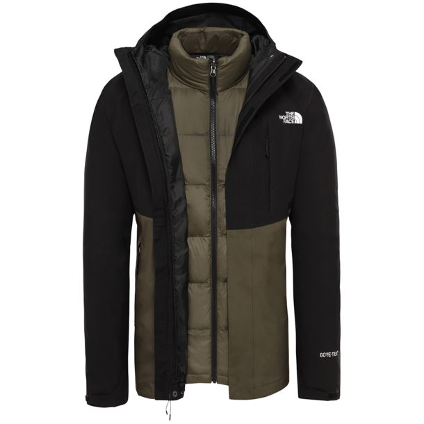 Herren MountainTriclimate Jacke new taupe green tnf black S