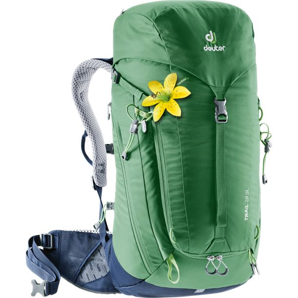 Damen Trail 28 SL Rucksack leaf navy