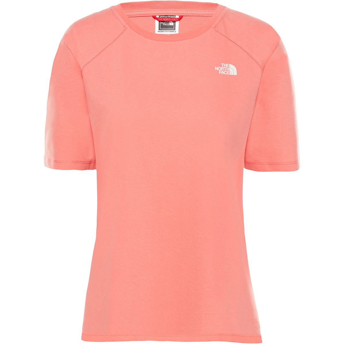 The North Face Damen Ss Prem Si Dom T-Shirt (Größe XS, Rot) | T-Shirts Freizeit > Damen