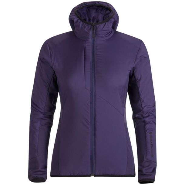 Black Diamond Damen Deployment Hybrid Hoody Jacke nightshade XS
